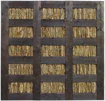 Tafel, Holzwand, Holzwandobjekt, Holz