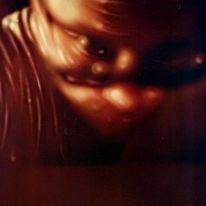 Selbstportrait, Polaroid, Abstrakt, Sx70