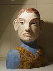 Skulptur, Charme, Figural, Pullunder