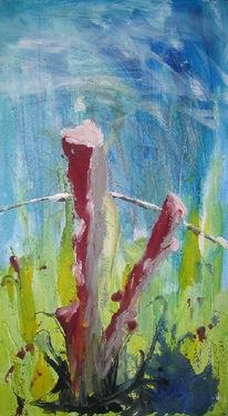 Enge, Abstrakt, Grenze, Malerei