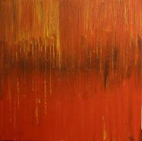 Abstrakt, Malerei, Lava