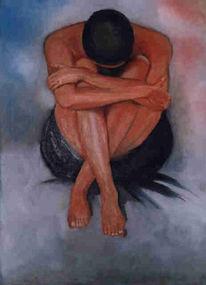 Figural, Ölmalerei, Ruhe, Menschen