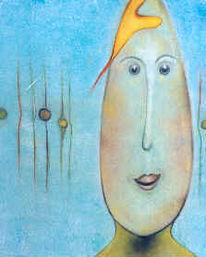 Ausstellung, Eierköpfe, Landschaft, Malerei