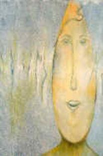 Eierköpfe, Gemälde, Ausstellung, Pinnwand