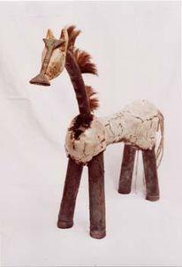 Tiere, Schrott, Pferde, Keramik