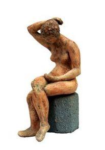 Überlingen, Sitzen, Weiblich, Figur