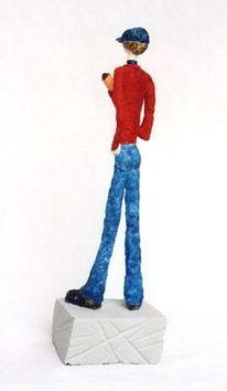 Skulptur, Keramikfigur, Töpferei, Keramik