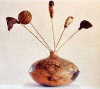 Überlingen, Keramikgefäße, Dose, Kunsthandwerk