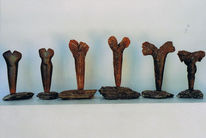 Keramik, Skulptur, Ton, Abstrakt
