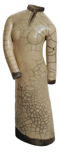 Skulptur, Keramik, Hülle, Kleid