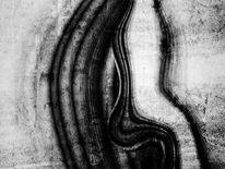 Abstrakt, Monochrom, Schwarzweiß, Textur