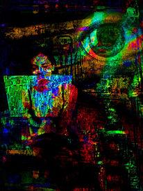 Spektral, Digital, Abstrakt, Netz