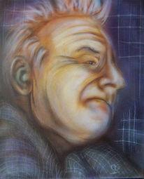 Alt, Malerei, Figural, Portrait