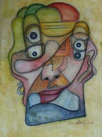 Abstrakt, Menschen, Liebe, Portrait