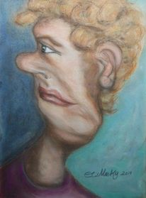 Portrait, Rückblick, Frau, Jahresende