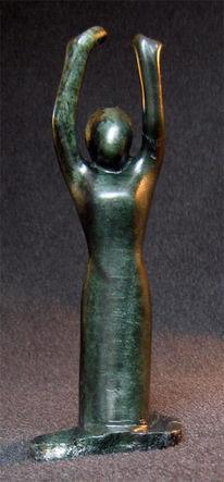 Ausstrecken, Hände, Skulptur, Figural