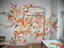 Raum, Installation, Innere, Farben