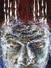 Menschliche, Portrait, Böse, Emotion