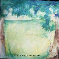 Aquarellmalerei, Acrylmalerei, Baum, Grafik