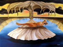Dalí, Akt, Erotik, Ölmalerei