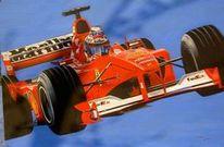 Blau, Auto, Formel 1, Rennwagen