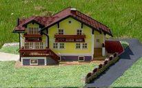 Minihaus, Masstab, Kunsthandwerk,
