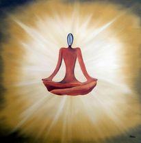 Ruhe, Chakra, Meditation, Dekoration