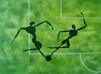 Grün, Fußball, Bewegen, Spieler