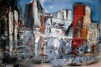 Acrylmalerei, Malerei, Kößling,