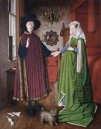 Replik, Arnolfini, Figural, Hochzeit