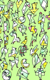 Doodles, Malerei, Soll, Lustig