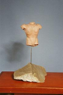 Skulptur, Kunsthandwerk, Torso, Männlich