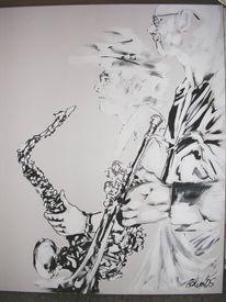 Arbeiten, Jazz, Malerei