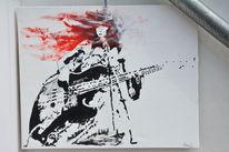 Jazz, Malerei, Musik, Arbeit