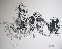 Arbeit, Jazz, Malerei