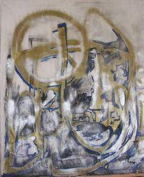 Malerei, Abstrakt, Markt