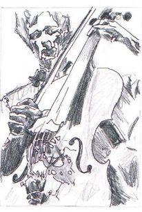 Zeichnung, Zeichnungen, Schwarm