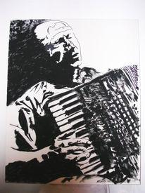 Jazz, Arbeit, Malerei