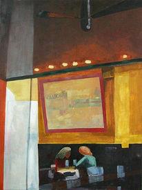 Malerei, Café
