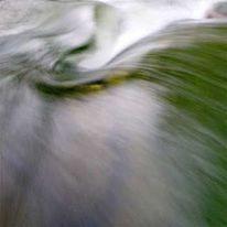 Wasser, Fluss, Langzeit, Abstrakt
