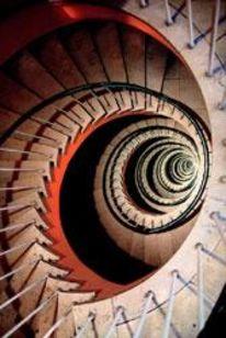 Architektur, Rotorange, Fotografie, Unendliche