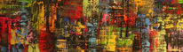 Malerei, Kaleidoskop, Acrylmalerei, Abstrakt