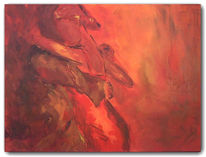 Abstrakt, Malerei, Tango