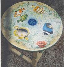 Design, Möbel, Unterwasser, Tisch