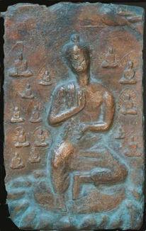 Skulptur, Plastik, Buddha