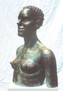 Mythologie, Bronze, Figur, Plastik