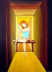 Raum, Malerei, Figural