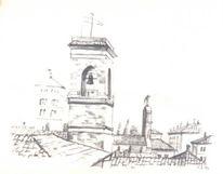 Italien, Zeichnung, Zeichnungen,