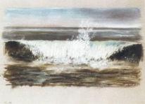 Welle, Meer, Natur, Zeichnung