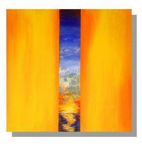 Natur, Sonne, Gelb, Malerei